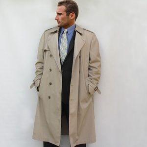•vintage london fog trench coat•